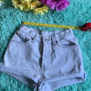 2 for 35 ❗️❗️Vintage 501 Levi High rise shorts
